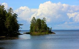 Île de Valaam Photos libres de droits