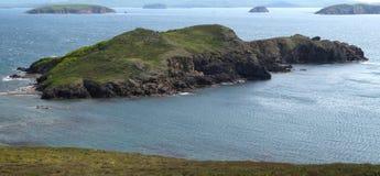 Île de Vicente dans le Golfe de Peter le grand La Russie, Primorye Photo libre de droits