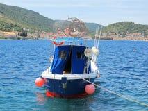 Île de Vis Croatia - hausse de faire du vélo Photo libre de droits