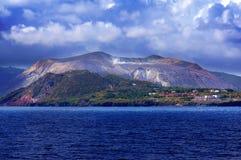 Île de Vulcano, Lipari, Italie Photo stock
