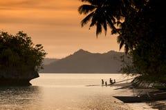 Île de Waigeo, Raja Ampat, Indonésie Photos stock