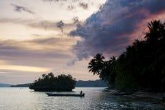 Île de Waigeo, Raja Ampat, Indonésie Photo stock