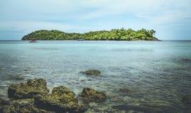 Île de Weh Image libre de droits