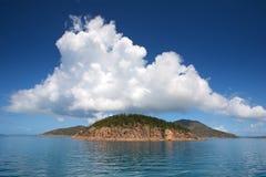 Île de Whitsunday Photographie stock libre de droits