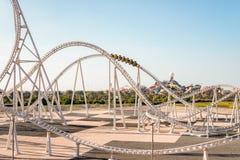 Île de Yas du monde de Ferrari, Abu Dhabi - 2 janvier 2018 : Monde FLB image stock