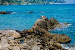 Île de Zakynthos Image libre de droits
