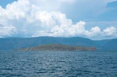 Île de Zamogoy, lac Baikal Image libre de droits