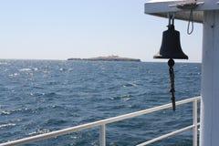 Île de Zmeiniy Images libres de droits