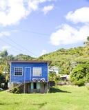 Île des Caraïbes des syndicats de résidence d'architecture photographie stock