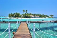 Île des Maldives Photos libres de droits