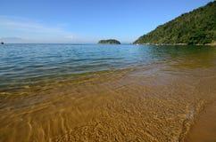Île du Brésil Photo stock