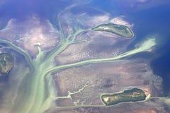 Île du ciel Photos libres de droits