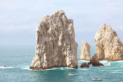 Île du Mexique - du Los Cabos Photos libres de droits