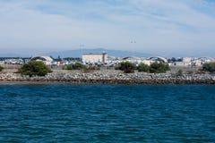 Île du nord dans Coronado, San Diego Image libre de droits