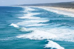 Île du nord de Stradbroke, Queensland, Australie photos stock