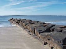 Île du ` s de Sullivan, la Caroline du Sud photographie stock