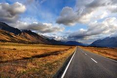 Île du sud de la Nouvelle Zélande Image libre de droits