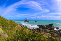 Île du sud de la Nouvelle Zélande Photo libre de droits