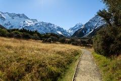 ÎLE DU SUD NOUVELLE-ZÉLANDE DE CUISINIER DE BÂTI Images libres de droits