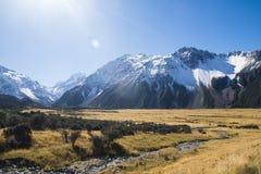 ÎLE DU SUD NOUVELLE-ZÉLANDE DE CUISINIER DE BÂTI Photo libre de droits
