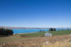 Île du sud Nouvelle-Zélande de Tekapo de lac Photographie stock