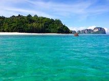 Île en bambou Thaïlande Image libre de droits