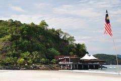 Île en Malaisie Photographie stock libre de droits