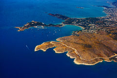 Île en mer Égée Photographie stock libre de droits