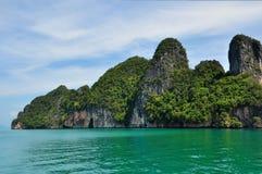 Île en mer Photographie stock libre de droits