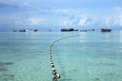 Île en mer d'Andaman Images stock