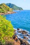 Île en mer d'Andaman Photos libres de droits