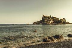 Île en Sicile image libre de droits