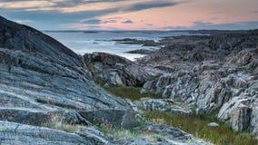 Île en Suède Photos libres de droits