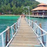 Île en Thaïlande Photographie stock