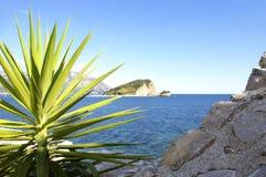 Île ensoleillée Image libre de droits