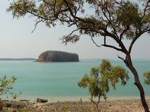 Île escarpée, Kimberleys, Australie occidentale Photos libres de droits