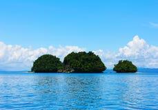Île et îlots Images libres de droits