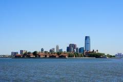 Île et le New Jersey d'Ellis Photo libre de droits