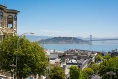 Île et Yerba Buena, San Francisco de trésor Image libre de droits