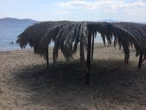Île Evia un endroit à voyager là Photographie stock libre de droits