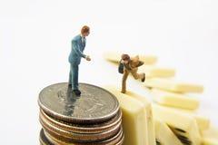 Île financière image libre de droits
