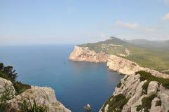 Île Foradada - Alghero Images libres de droits