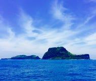 Île formée par chaussure 2 Image libre de droits