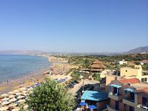 Île-Georgiopolis de Grèce-Crète Photos libres de droits