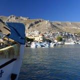Île Grèce de Pothia Kalymnos Photos libres de droits