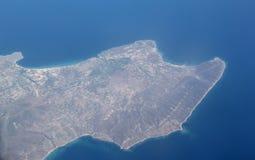 Île grecque Photographie stock libre de droits