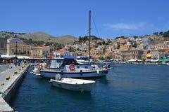 Île grecque Photo libre de droits