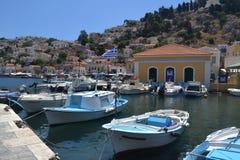 Île grecque Images libres de droits