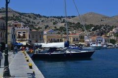 Île grecque Photos stock