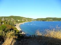 Île grecque Skiathos Photos libres de droits